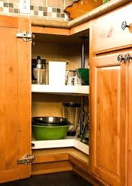 Kitchen Corner Cabinet Storage Solutions Corner Kitchen Cabinet Storage Or Corner Kitchen Cabinet