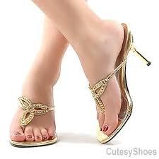 on thong rhinestone dress heel silver buy dress heel shoe