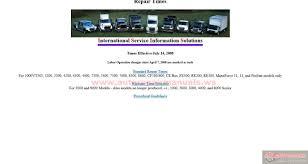 international service information solutions master service manual