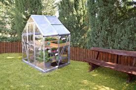 Palram Harmony 6 X 8 Palram Nature Series Hybrid Hobby Greenhouse 6 U0027 X 4 U0027 Silver