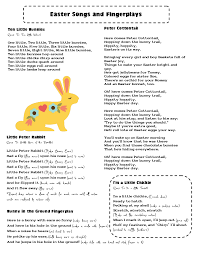 easter plays for children mrs home ec easter songs and fingerplays better late than never