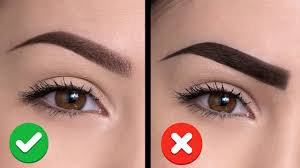 6 common eyebrow mistakes and how to avoid them youtube