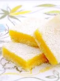 une plume dans la cuisine carrés au citron une plume dans la cuisine