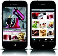 livre de cuisine kitchenaid kitchenaid lance sa propre application pour iphone ipod et