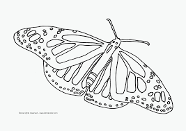 coloring pages of butterfly smiling butterfly coloring pages for kids printable free clip