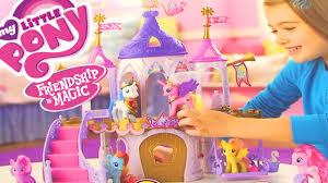 mlp wedding castle my pony friendship is magic 2014 wedding castle playset