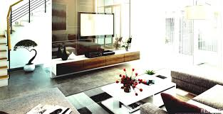 interior design glass partition wall home apartment with