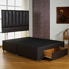super fast delivery hf4you brown faux leather bed base best seller