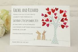 Wedding Invitations Cards Uk Introducing Bunnies Wedding Invitation Ivy Ellen Wedding