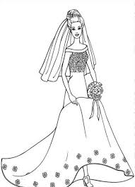 wedding dress free coloring pages on art coloring pages