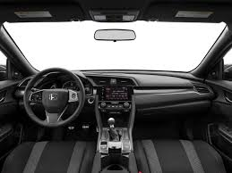 new 2018 honda civic si sedan manual msrp prices nadaguides