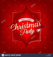 merry christmas party invitation template eps 10 stock vector art