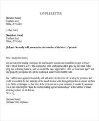 agreement letter formats
