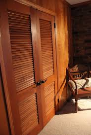 Louvered Cabinet Door Interior Design Fascinating Mahogany Louver Door Picture