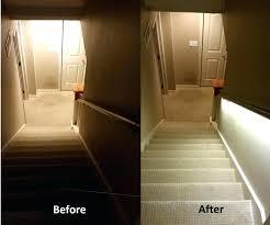 led stair lights motion sensor interior stairway lighting ideas sisleyroche com