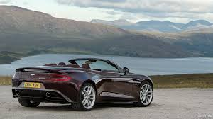 2015 Aston Martin Vanquish Volante Divine Red Rear Hd