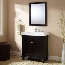 bathroom black vanity signature hardware