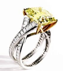canary yellow engagement rings wedding wednesday yellow engagement rings geneva seal