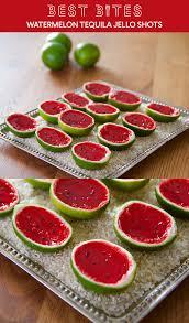 best bites watermelon tequila jello shots aol lifestyle food