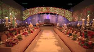 Marriage Planner Video Mapping In Royal Wedding At Ritz Carlton Hotel Doha By