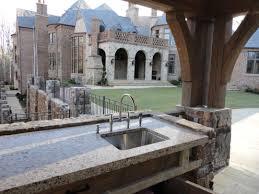 outdoor kitchen granite countertops design u2014 porch and landscape ideas