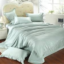 luxury king size bedding set queen light mint green duvet cover double bed in a bag pale green gingham
