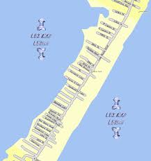 Map Of Long Beach Lbi Maps Section 12 North Beach Frazier Park Long Beach Long