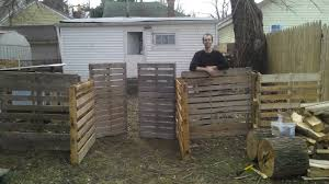 fence made from pallets critter care forum at permies