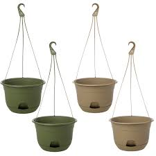 Hanging Planters Indoor by 2pk Suncast 12 U201d Self Watering Hanging Planters Indoor Or Out