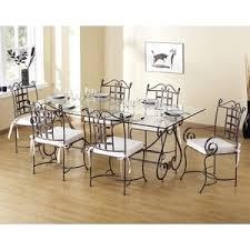 table de cuisine en fer forgé table fer forge chaises de salle à manger parer les élégant table