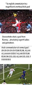 Arab Memes In English - difference between english and arab commentator by ziggs meme center