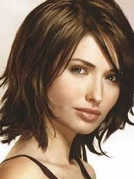 medium length haircuts for thick hair hairstyle and haircuts