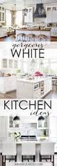 white kitchen ideas best 25 white kitchen decor ideas on pinterest kitchen styling