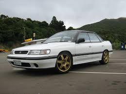 subaru rsti coupe gtp cool wall 1989 1993 subaru legacy rs