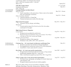 most recent resume format most recent resume format current curriculum vitae template
