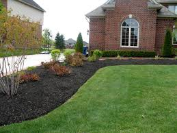 Landscaping Ideas For Backyard Privacy by Portrayal Of Learn The Good Ideas To Apply Best Mulch For