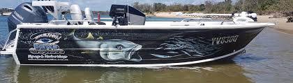 wraps australia boat wraps bonza graphics australia