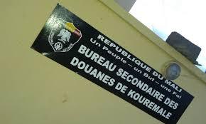 bureau de douane mali kouremalé la douane arrête un trafiquant de cocaïne