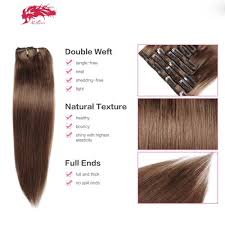 clip extensions clip in human color 8 hair extensions