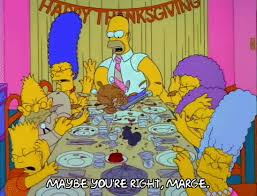 the simpsons thanksgiving gifs find on giphy