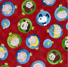 cotton fabric character fabric time peanuts