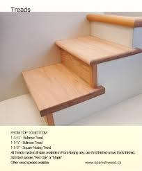 treads spanish wood mfg
