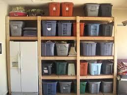 build your own garage shelves home desain 2018