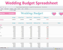 budget template etsy
