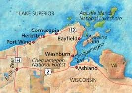 wisconsin scenic drives map scenic drive through northern wisconsin midwest living
