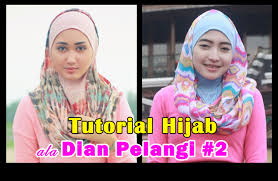 tutorial jilbab ala ivan gunawan tutorial hijab ke pesta untuk wajah bulat tutorial hijab paling