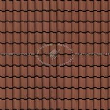 clay roof tile texture seamless 03464