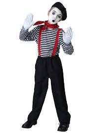 Scary Halloween Costumes Kids Girls 20 Mime Costume Ideas Mime Halloween Costume