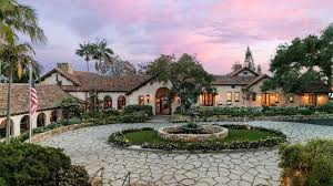 santa barbara style homes 16 million gorgeous santa barbara spanish colonial revival villa