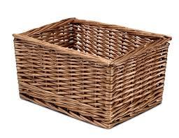 storage unit with wicker baskets millhouse low level storage bench nursery storage unit wicker baskets